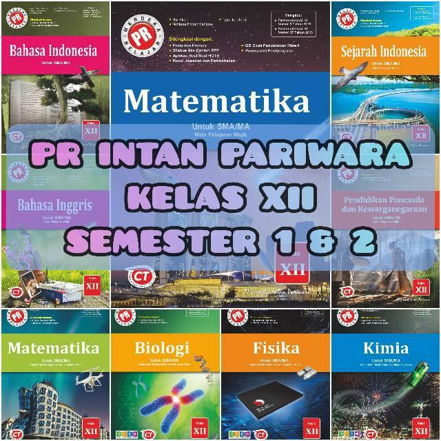 Buku Pr Intan Pariwara Sma Ma Kelas Xii 12 K 13 Semester 1 Dan 2 Shopee Indonesia
