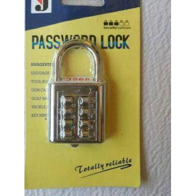 Gembok Password Pin 10 Angka/Digit ...