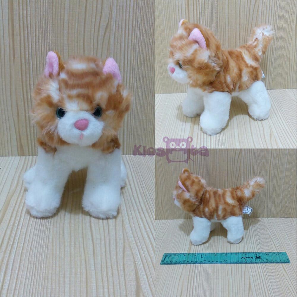 boneka yellow cat kucing kuning standing baby toy  782cc62ab8