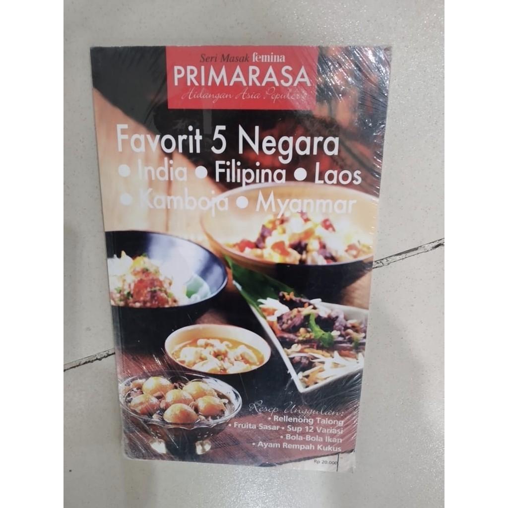 Buku Seri Masak Primarasa Favorit 5 Negara Hidangan Eksotik Nusantara Sedap Berkuah Shopee Indonesia
