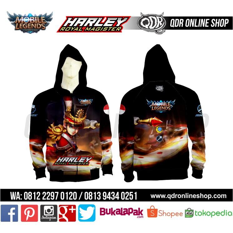 Jaket Hoodie Mobile Legends Yi Sun Shin Skin Apocalypse | Shopee Indonesia