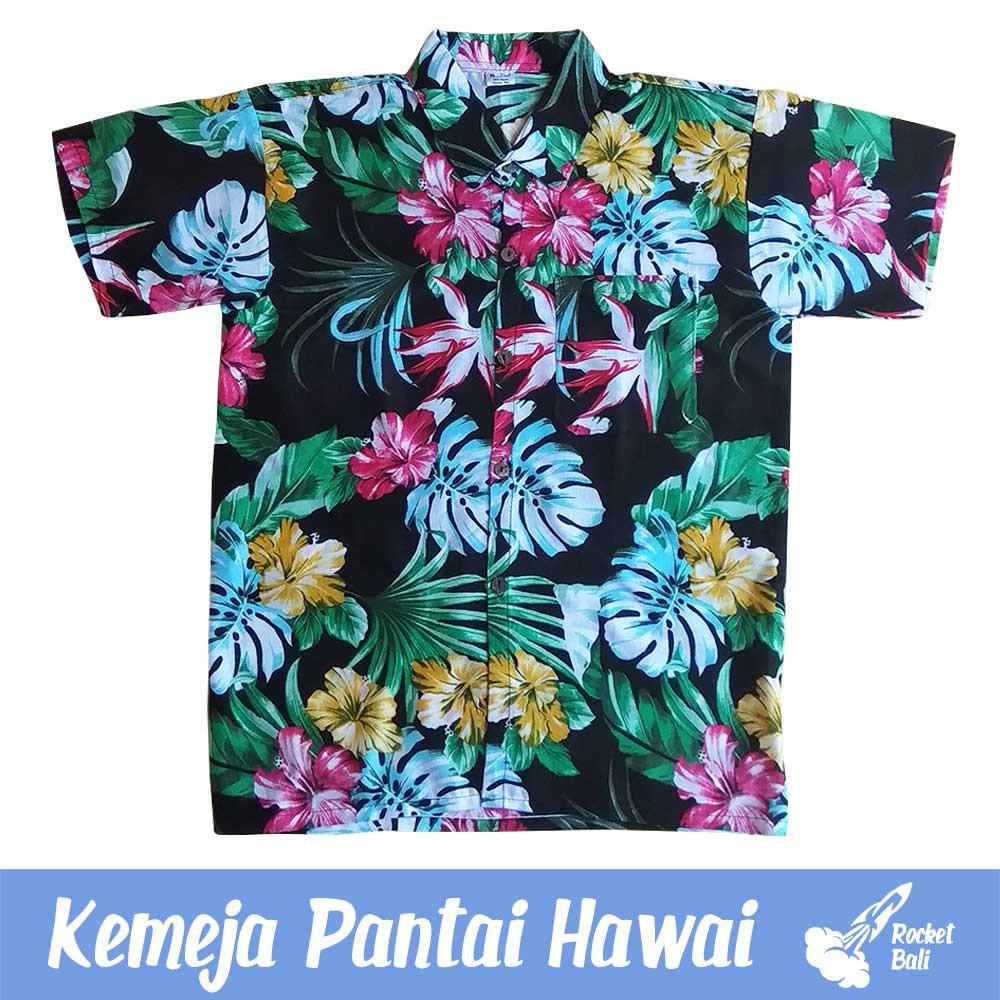 Baju Pantai Pria Kemeja Pantai Baju Pantai Kemeja Hawai Baju Hawai Kemeja Bali Terbaru