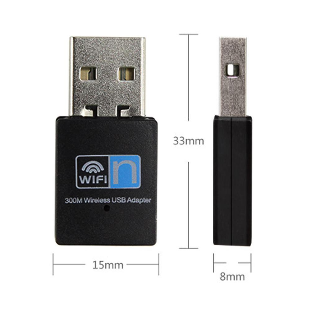 Realtek 300Mbps Mini USB Wireless 802.11B//G//N LAN Card WiFi Network Adapter