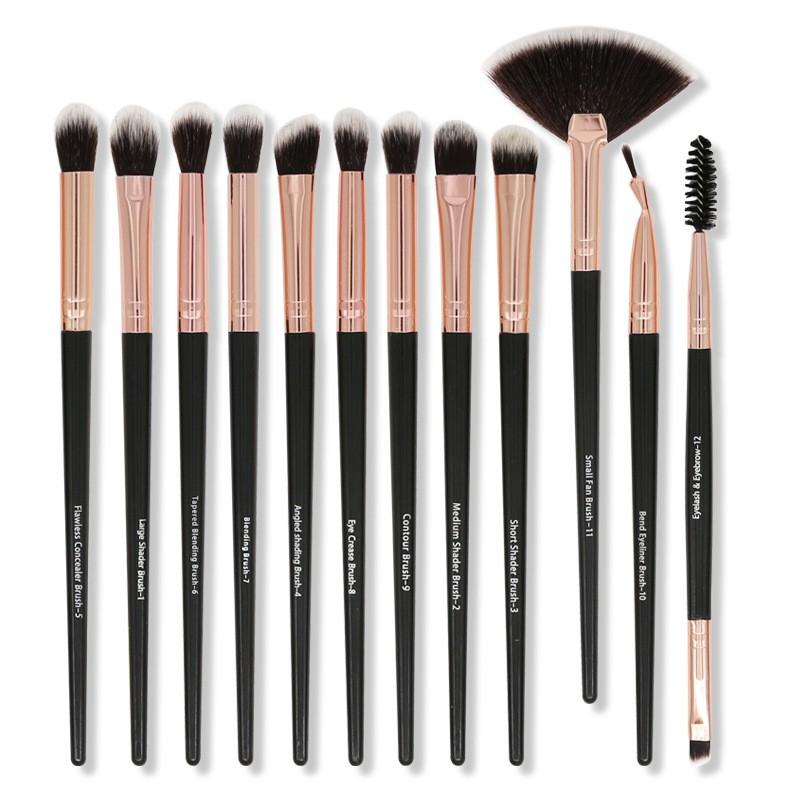 12pcs Eye Makeup Brush Set Kuas