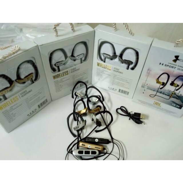 Headset handsfree bluetooth jbl ye 05