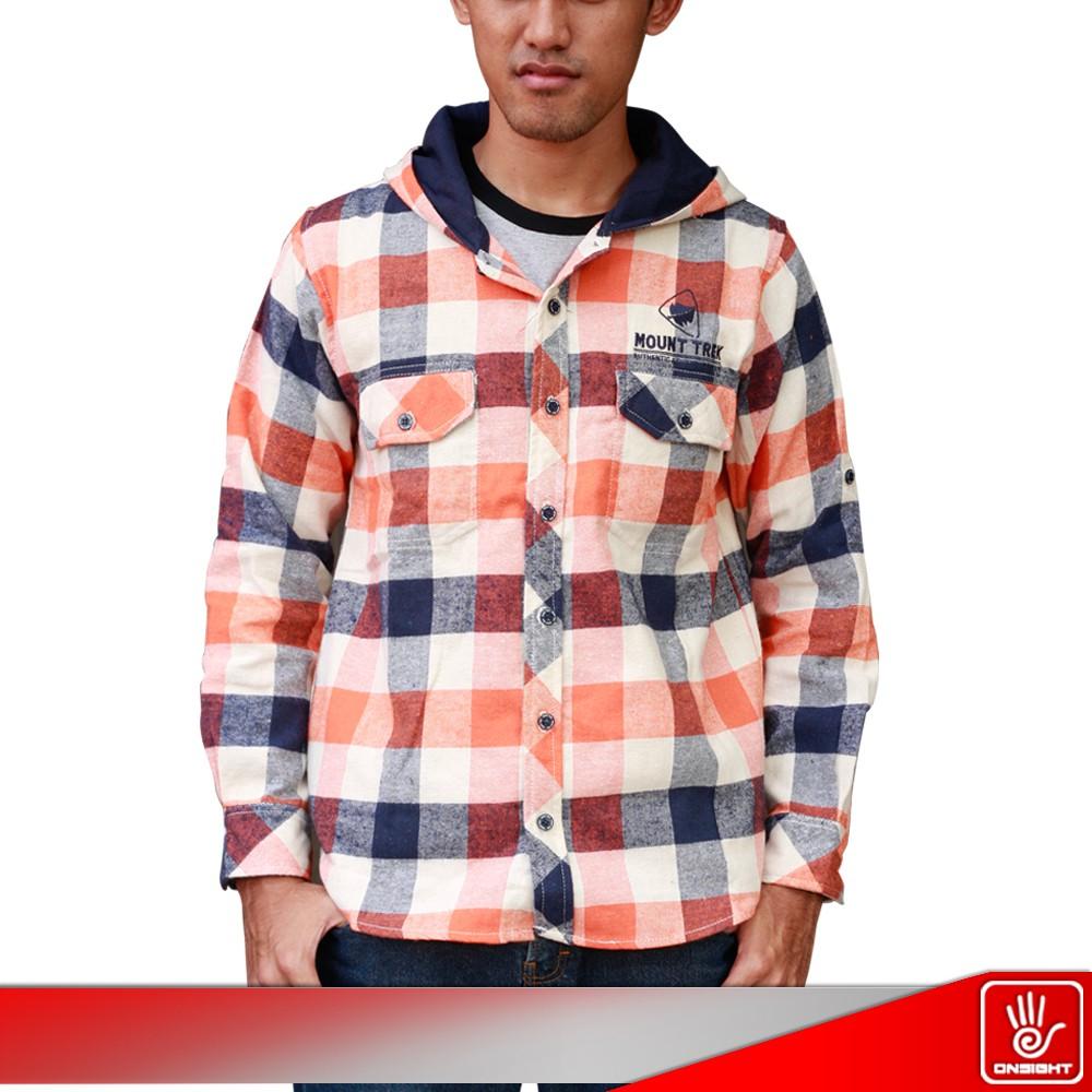 Kemeja Panjang Pria Co Trek Rubyrock Shopee Indonesia Flanel Model Slimfit Modern Motif Flannel Kotak Monte Putih Xl