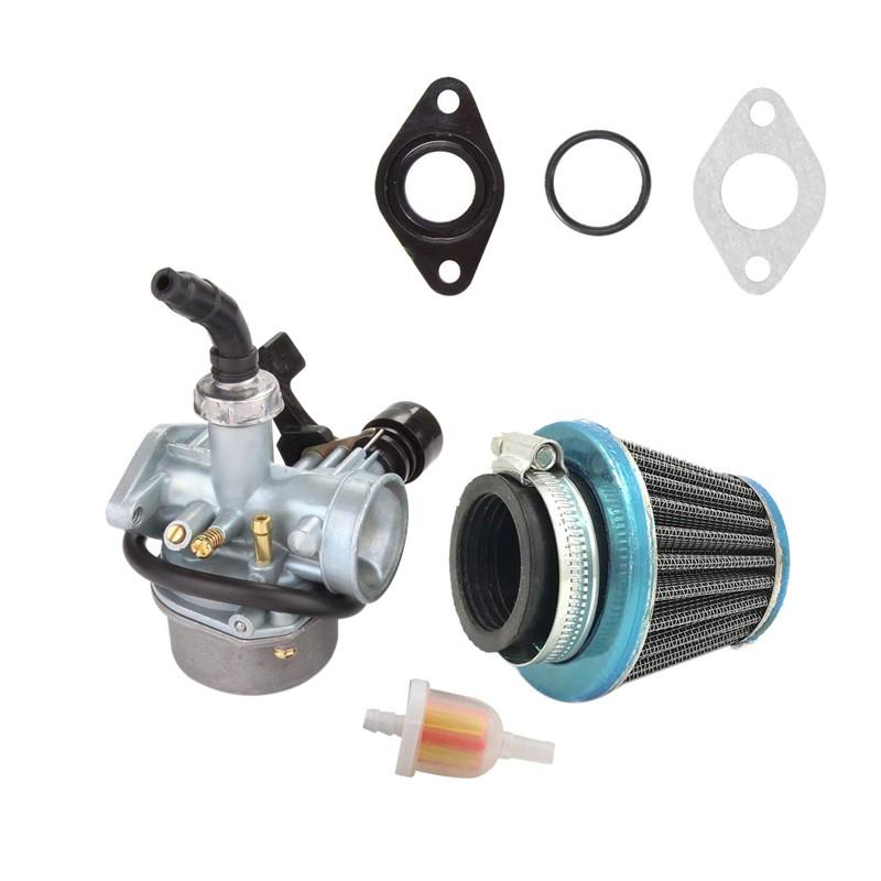 ATV Carburetor PZ19 Carb 50cc 70cc 80cc 90cc 110cc 125cc Air Filter ATV Go-Kart