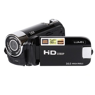 Lumin HD90 Camcorder Digital Camera 1080P 12MP Video Full HD DV DVR 2.7'' TFT LCD 16x Zoom