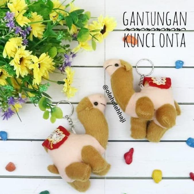 Best Promo Oleh Oleh Haji Gantungan Kunci Boneka Onta Paket Souvenir Murah  Umroh  9320e51ea5
