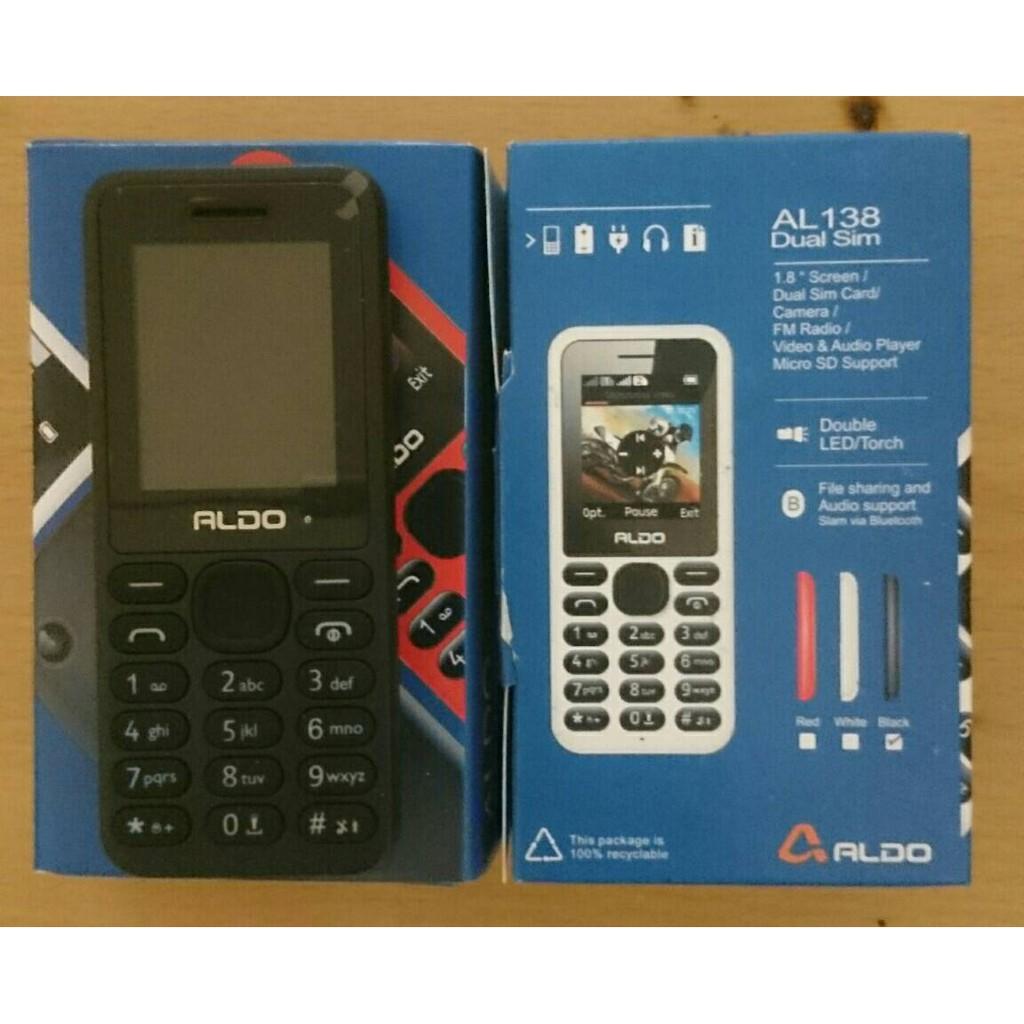 Aldo Al 136 Dual Sim Garansi Resmi Shopee Indonesia Nokia 105 2017 Parastar
