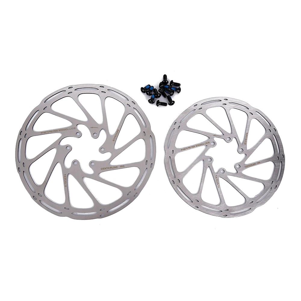 Centerline 180mm Cycling Disc Brake Rotor With 6 Bolt for MTB Road Mountain Bike
