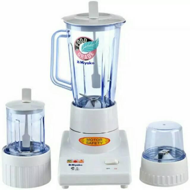Turun Harga Blender Miyako Bl 102pl 3in1 Plastik Termurah Free