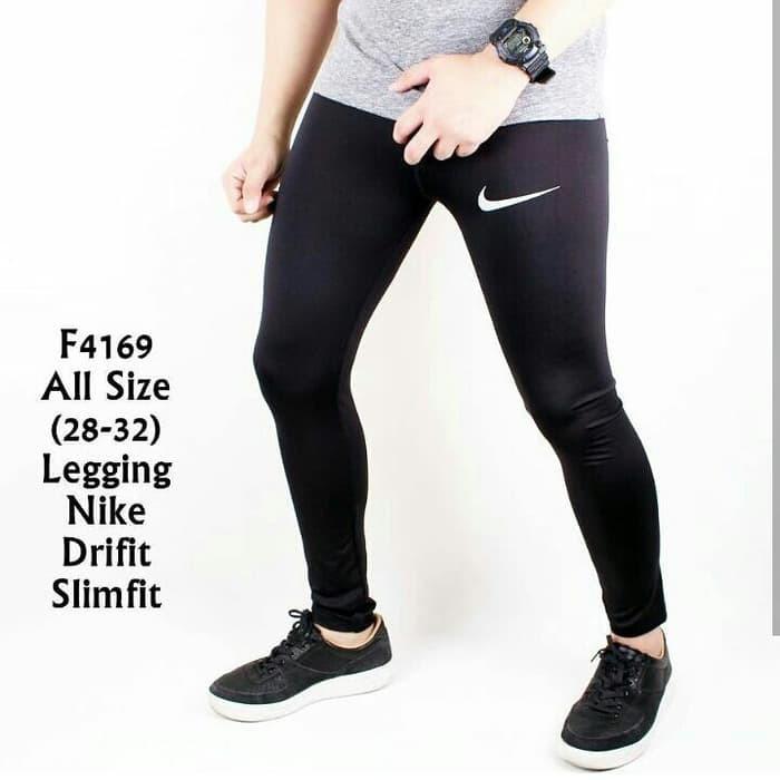Promo Celana Legging Pria Nike Sport Gym Fitnes Shopee Indonesia
