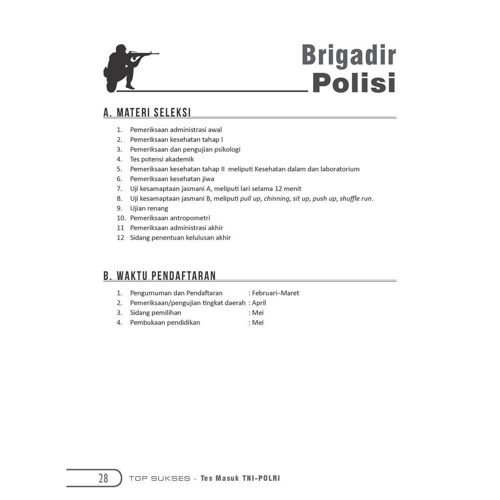 Tes Keswa Brigadir Polri Download File Guru