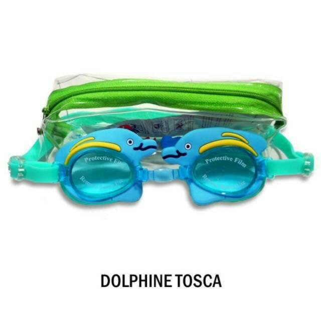 Kacamata Renang Anak merek Sainteve motif Dolphine by Rumah Popok Sakti | Shopee Indonesia