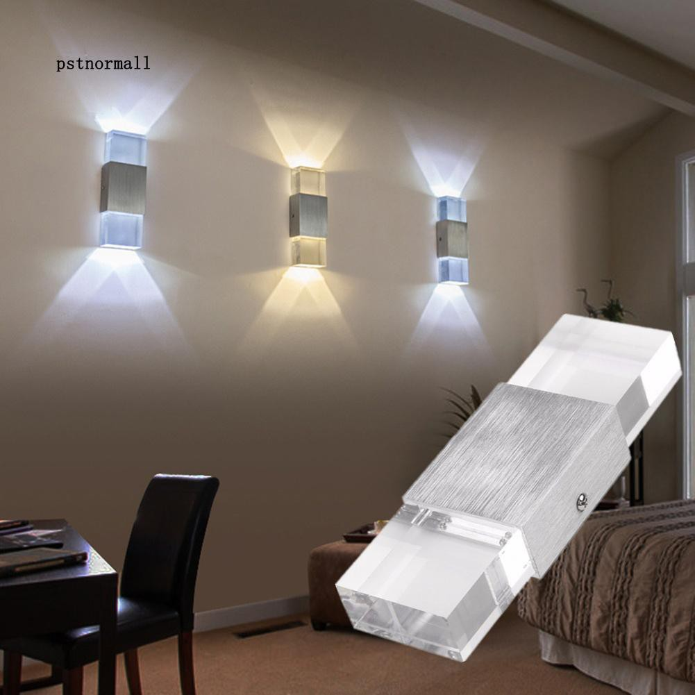 Double Heads Led Wall Lamp Night Light