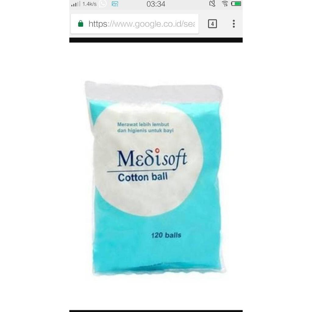 Promo Medisoft Cottonball Kapas Bola Good Quality Shopee Indonesia Wellness Gulung 1kg Pembersih Pantat Bayi