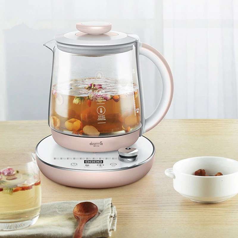 High quality... Deerma1.5L Health Preserving Pot Multifunction Electric Cooking Tea Kettle