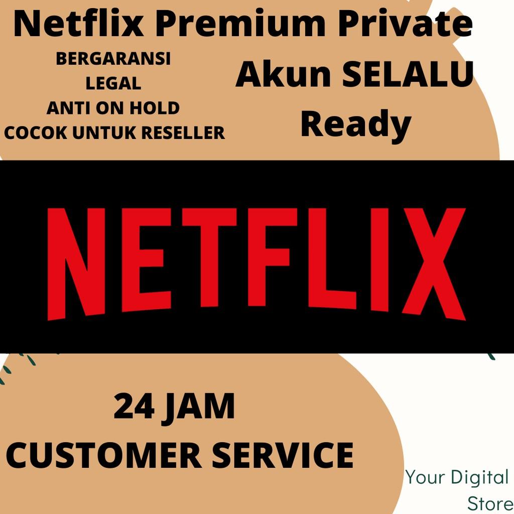 Netflix Premium Selamanya Full Garansi Termurah Shopee Indonesia