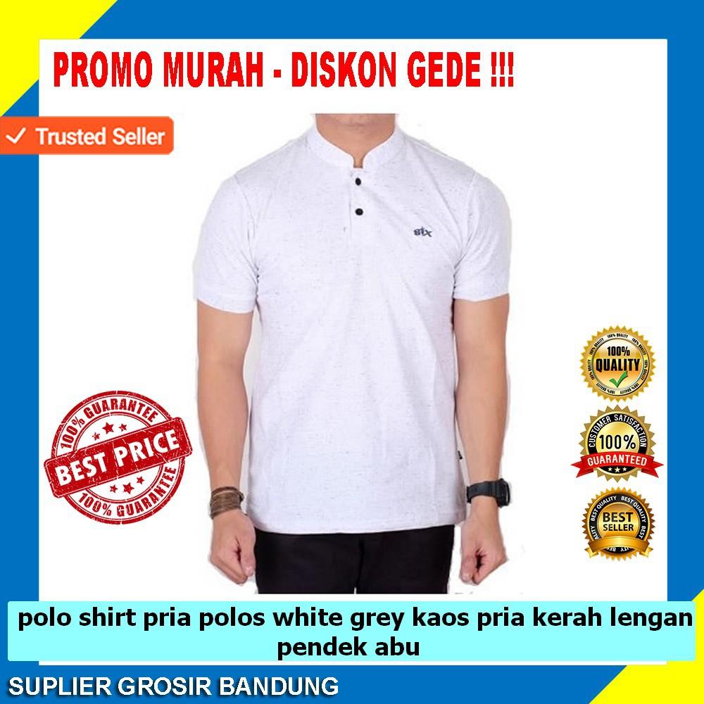 Polo Shirt Pria Polos Pendek Abu Grey Spec Dan Daftar Harga Eiger Logo Sketch Ol T Red Kaos Merah M S Dapatkan