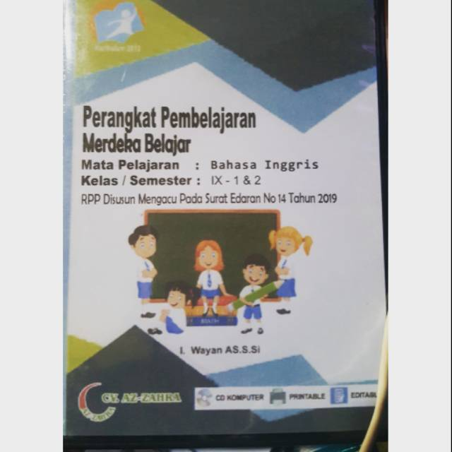Rpp 1 Lembar Smp Bahasa Inggris Kelas 9 Kurikulum 2013 Revisi 2020 Shopee Indonesia