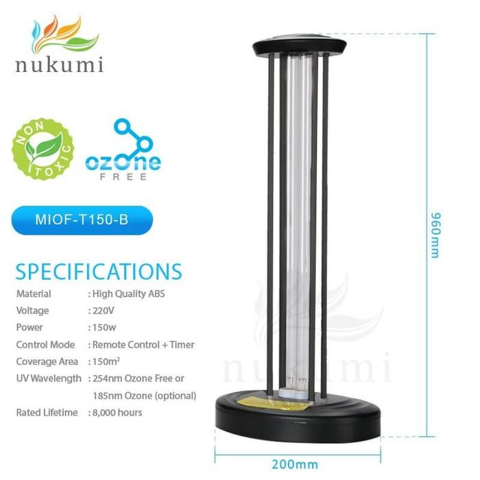 Nukumi Lamp UV Standing - MIOF T150-B Ozone Free