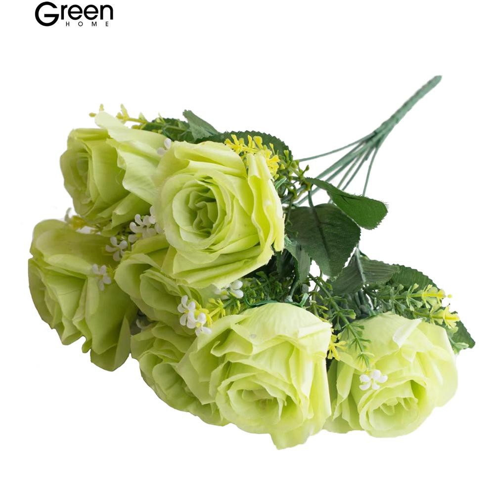 Greenhome 1 Bouquet Charming Palsu Sedikit Daisy Bunga Pernikahan Dekorasi  Rumah  d9e28e1f9d