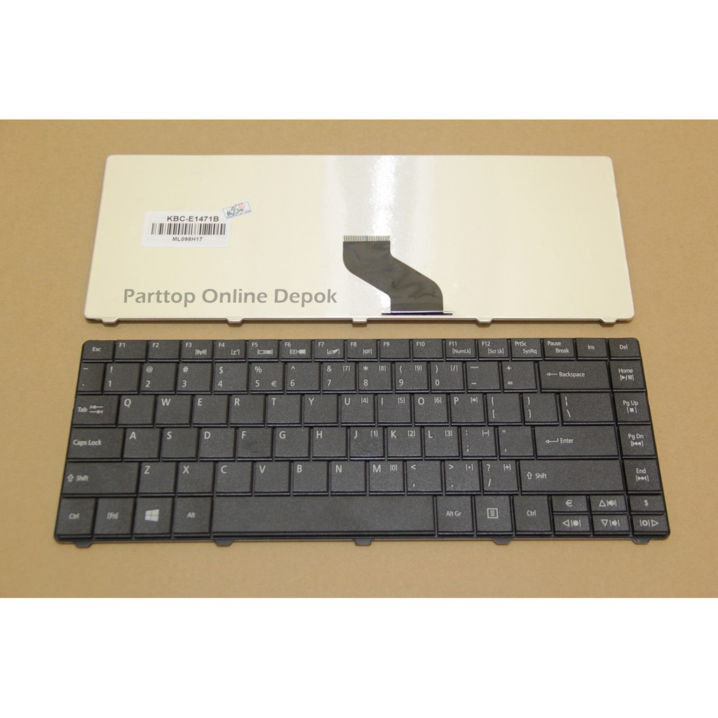 Keyboard Acer Travelmate 4750 4750g 4750z Top Productt Shopee P243 Tm4750 Indonesia