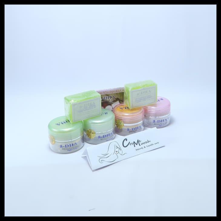 Adha Paket Cream Pemutih Wajah - Hijau [40 Tahun Keatas]. Source · (MDS) CREAM ADHA MDS PINK ATAU HIJAU ORIGINAL 100% | Shopee Indonesia