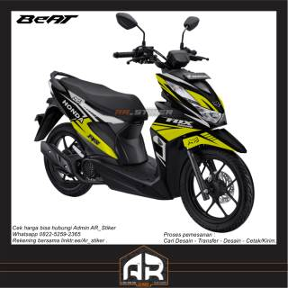 Decal Beat Street Beat Esp Rockstar Shopee Indonesia