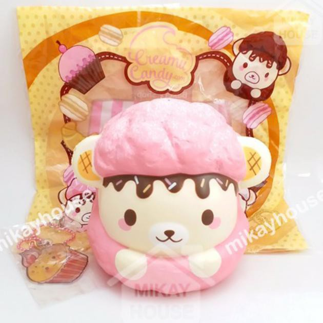 Luggage & Bags Bag Accessories &ornament Cute Squeeze Stress Kids Gift Pillow Loaf Cake Bread Toy Kawaii Rising Jumbo