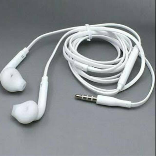 Stereo Headset Samsung Galaxy S7 Series / S7 EDGE Original OEM | EO-EG920BW Handsfree Putih | Shopee Indonesia
