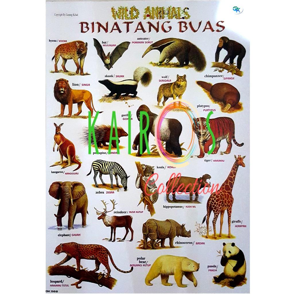 Poster Binatang Buas