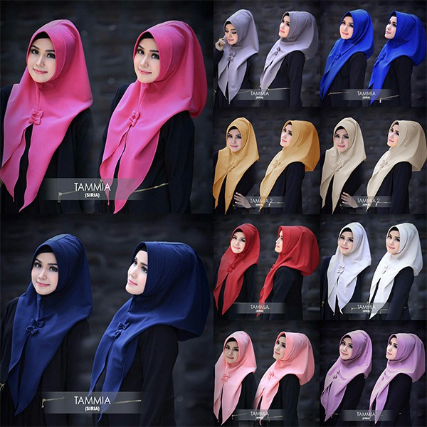 SP465922573 Jilbab Instant Siria Tammia - Blanja.com