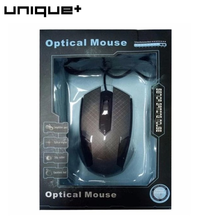 Generic Optical Mouse Gaming Zornwee Death Lamp Z3 - Hitam. Source · UNiQue Mouse .