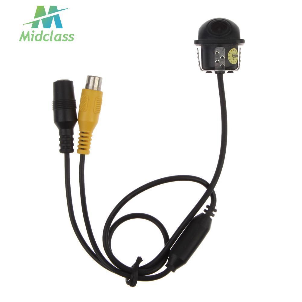 【 MS 】 Kamera Mundur / Parkir Mobil 170 Derajat Wide Angle HD dengan Wiring Kamera Mundur on