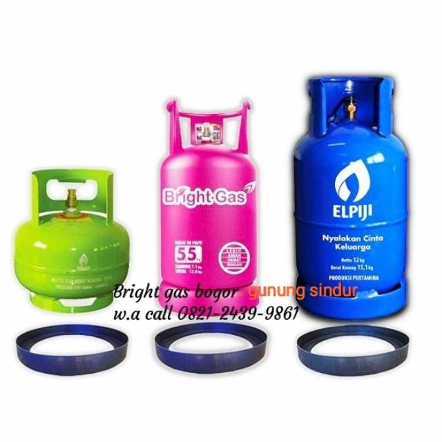 Tabung Pink Bright Gas 12 Kg Kosong Shopee Indonesia