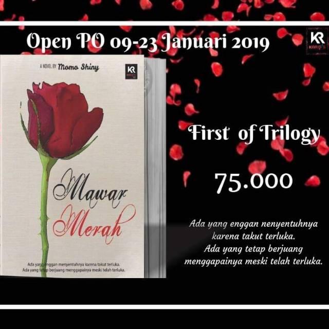 Novel Mawar Merah By Momo Shiny Shopee Indonesia