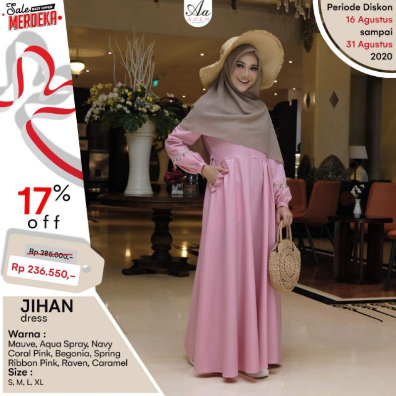 Gamis Jihan Dress by Aden