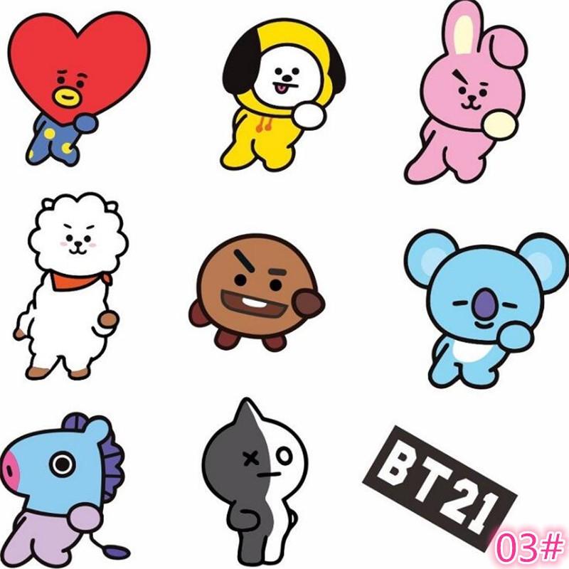 Acc Hp Cutie Stiker Dinding Bahan Mudah Dilepas Gambar Kartun Warna Hitam Dan Pink Untuk Dekorasi Shopee Indonesia