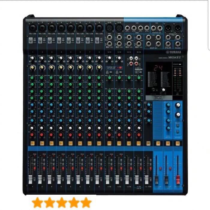 Mixer Audio | Mixer Audio Yamaha Mg16Xu 16Channel Grade A