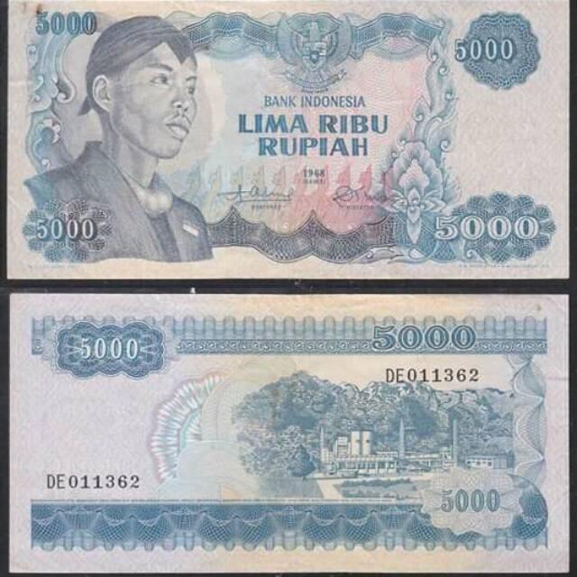 Promo Uang lama 5000.jendral sudirman