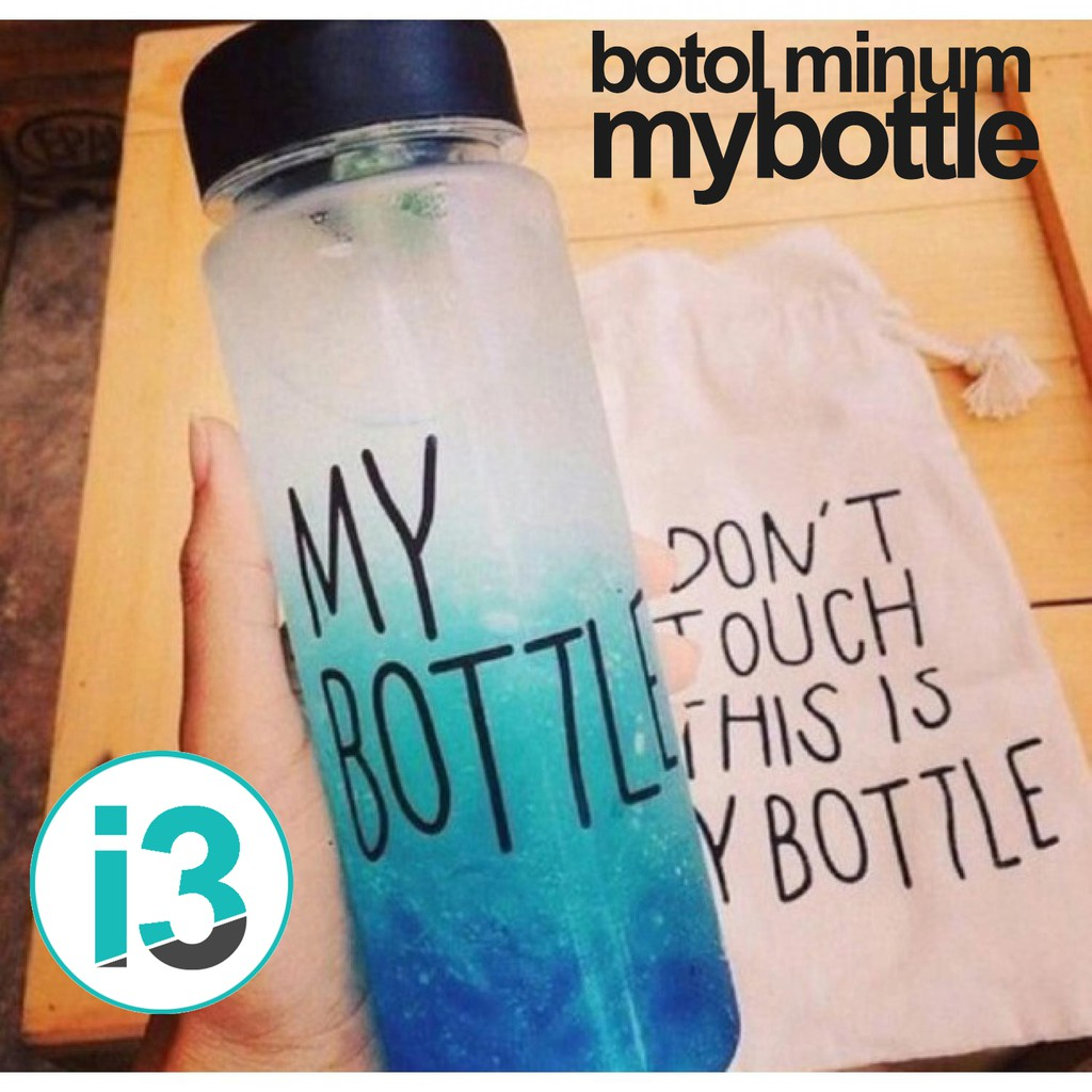 My Bottle Plastik Bening Sarung Botol Juice Air Minum Termos 501 600ml Shopee Indonesia