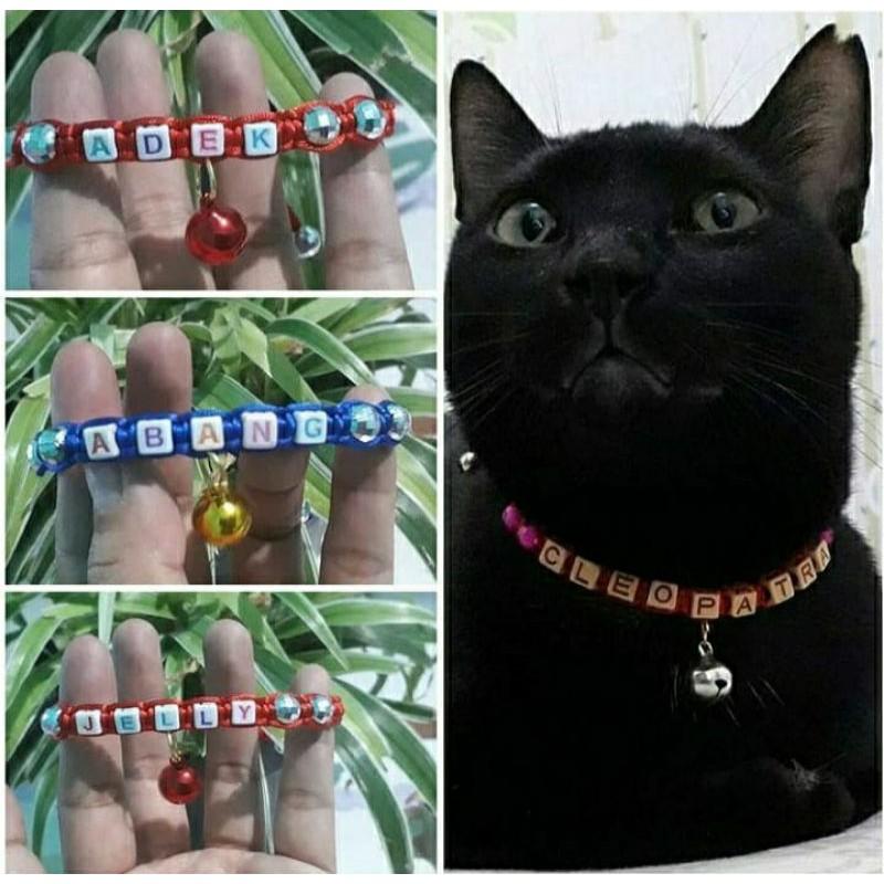 Kalung kucing nama / kalung kucing / kalung nama kucing,