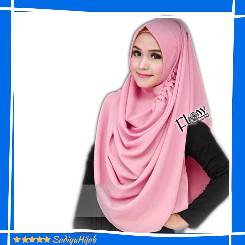 Pastan Tiara Hijabers Pqcn New Aksesoris Pashmina Instant Queen Cantika Original Jilbab Kerudung Shopee Indonesia