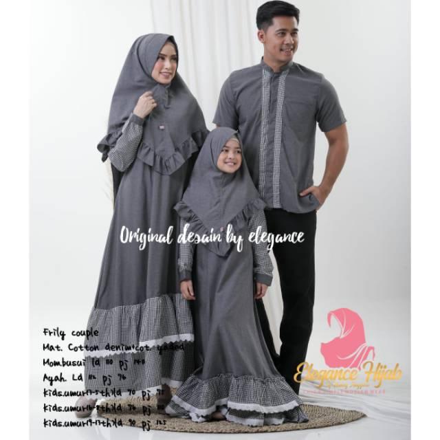 Gamis Baju Muslim Se Keluarga Family Couple Ibu Ayah Anak Perempuan Laki Laki Dijual Terpisah Ori Shopee Indonesia