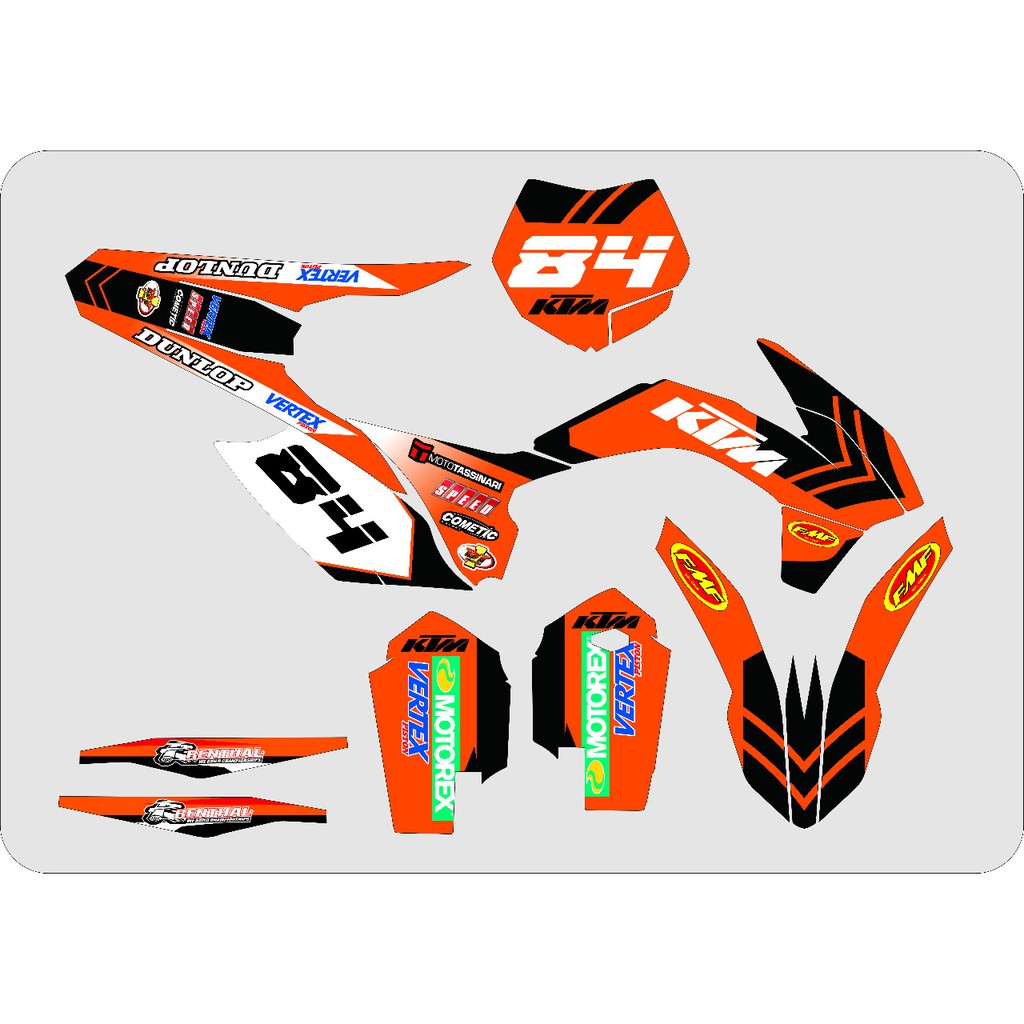 Decal sticker ktm 85 2017 shopee indonesia