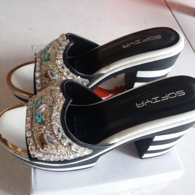 sandal sofiya - Temukan Harga dan Penawaran Online Terbaik - Sepatu Wanita Maret  2019  1256f3e15d