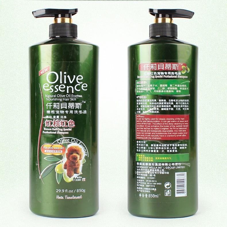 Shampoo Olive 450ml all varian Untuk Anjing dan Kucing-Dog&Cat No1 850ml