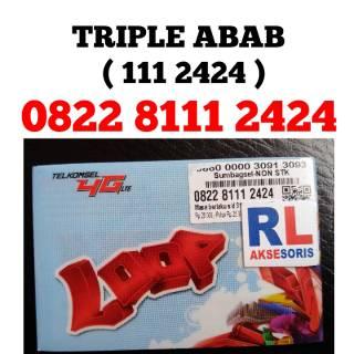 Nomor Cantik Simpati 111 2424 Triple ABAB Nomor Cantik Telkomsel 111 2424